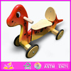 Hot new product for 2015 wooden toy scooter,high quality children wooden push scooter toy,hot sale baby toy scooter wj278666