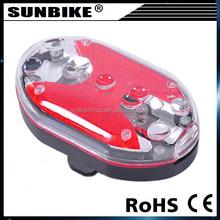 2015 high quality factory direct sale cheap hot sale rear bike light