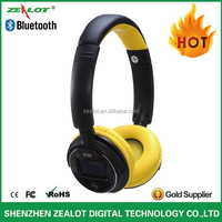 B380 Factory Direct sale Hot headphone bluetooth,bluetooth headset, headset CSR With LCD Screen