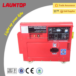 200A High Quality Silent diesel welding generator with 188F engine