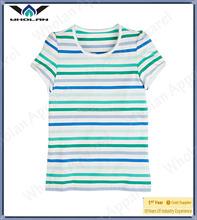 Original cotton stripe breathable soft touch children t-shirt