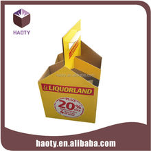 China supplier high quality folding 4 pack paper beer carrier box