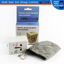 All in One Universal International USB Travel Charger, For UK, USA, EU ,AU Global Travel Charger