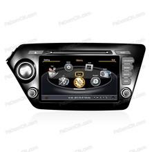 In-dash car DVD player navigator stereo +GPS system+car radio+TV+Bluetooth for Kia K2
