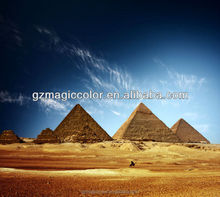 distributor famous Egyptian pyranid scenery city design wallpaper