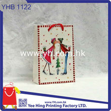 High Quality Christmas Paper Shopping Bag With Handle