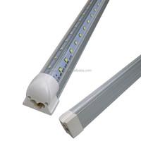 Free shipping T8 22W4 ft 1200mm 1.2m v shape led tube light led cooler light