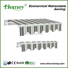 35mm wall brackets economic canopy patio cover awning