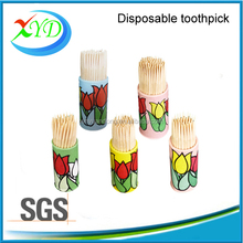 French market wooden tooth stick