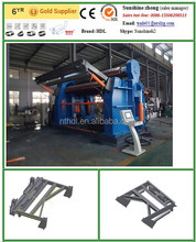China Top quality hydraulic 4 rolls bending machine, four roller plate rolling machine