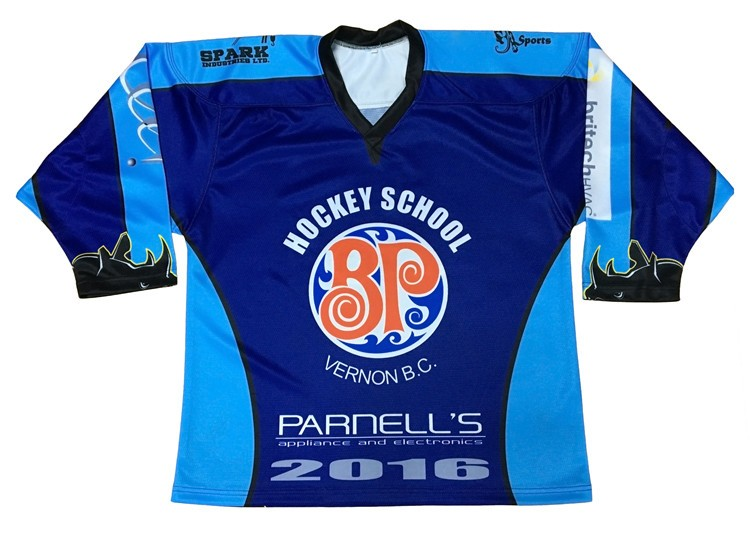 ice hockey practice jersey custom