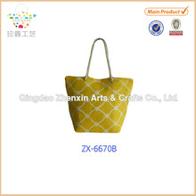 2015 Hot Selling New Design Paper Straw women tote beach Bag