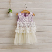 Persnickety Baby Girls 100 Cotton Clothing Boutique Children Purple Sleeveless Lap Dress