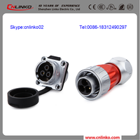 China Factory 24v power pin connector male-female wiring harness connectors outdoor 3pin connector