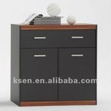 3 drawers glossy cabinet