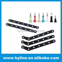 Hot sale OEM/ODM nice design Go pro Best for go pro accessories CNC Aluminum Arms and Screw for factory gopros CNC Aluminum Arm