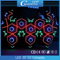 Indoor Disco 3D Mapping LED Smart Triangle Module Display