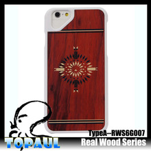 Cool wood back cover case for mobile phone iphone 5