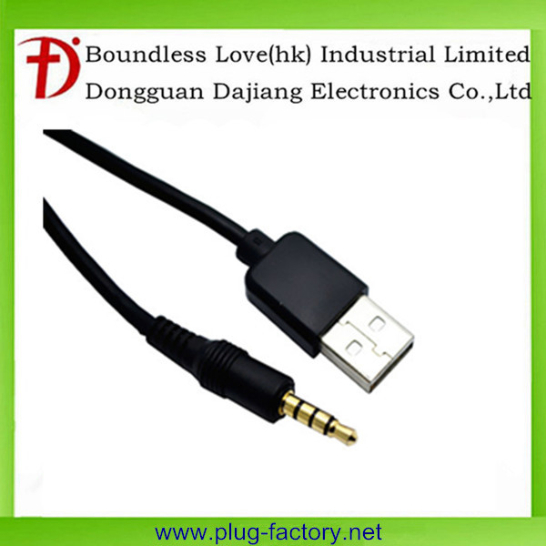 3.5mm 4pole male to USB connector