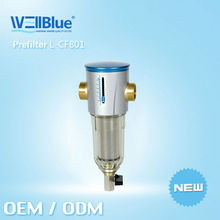Manufacturer Pre Filters Water Filter purifier L-CF801 Water Prefilter Carbon Prefilter