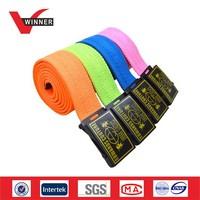 2015 Custom Fashion Polyester Canvas Webbing Belt Manufacturer