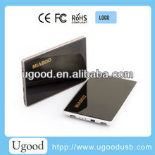 Hot Sale mini Portable Power Bank brand phone/smartphones / Mp3 / Mp4 / GPS,2000mah power bank for promation and gift