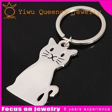 zinc alloy crystal metal keychain