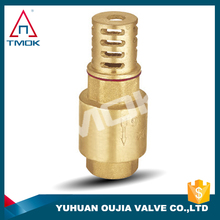spring check valve with filter net NPT threaded connection with PPr hydraulic motorize mini material Hpb57-3 good quality and