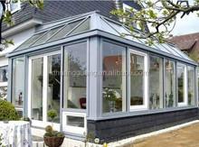 Unique design/Modern aluminiu/PVC glass sun room