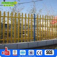 Powder Coated Frame Finishing and Steel Metal Type Palisade Steel Wire Fencing