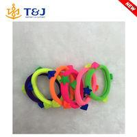 S>>>>2015 new variety of colors Korean cute pentagram nylon string elastic /hair band/