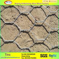 Hot dipped galvanized chicken coope hexagonal wire mesh
