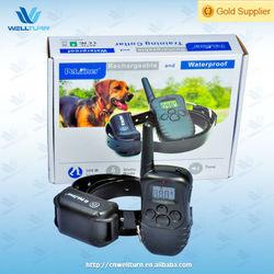 Wholesale dog vibration shock training anti bark collar WT738N