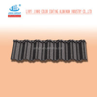 Colorful Stone Coated Metal Roof Tile| Sand Coated Roofing Tile