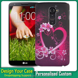 DIY personalised customized printing mobile phone case for LG G2 D801 D802 G3
