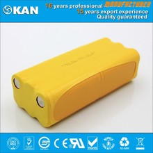 KAN nimh 14.4V 12xaa 1000mAh rechargeable battery pack for robotic vacuum cleaner