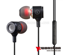 2014 new style earphone for iphone 5 earphone with mic and volume control