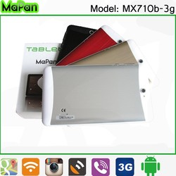 7 inch android tablet pc dual core mtk8312., cheap mapan 3g smart phone tablet