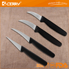 Export fruit knife stainless stell low price paring knife with plastic handle simple and practical