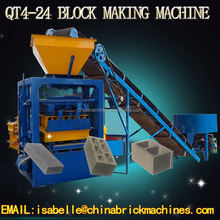 QT4-24 new style fly coal ash block making machines for build materials