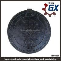 Cast water tank manhole cover en124 d400,cast iron manhole covers