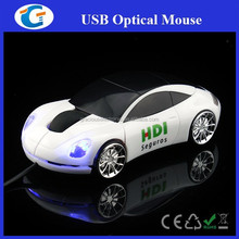 Corporate giveaways wired optical sports car mouse