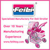 Feili toys directly factory Doll Stroller and Pram Factory with BSCI audit,baby doll stroller
