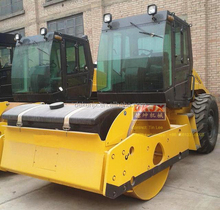 Vibration Frequency 50Hz 40KW 8Tons Single Drum Vibratory Roller Compactor