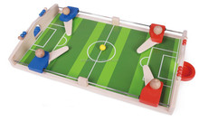 Min woooden football table/Cheap footbal table game for 36months kids playing/wooden table top football game toy