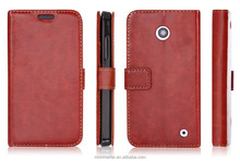 For Nokia Lumia 630 case leather skin cover, fashion leather case for Nokia Lumia 630, business style for Nokia Lumia 630 case