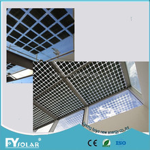 high quality and light weight semi flexible solar panel Al/ETFE/TPE/BIPV/NEW with TUV/PID/CEC/CQC/IEC/CE