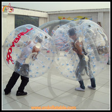 China Fashion toy balls factory directly sell ! inflatable ball suit , inflatable bumper ball for childern and adult