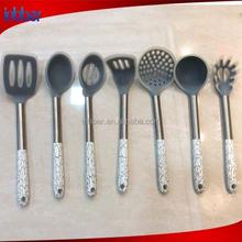 (SN149) Popular design 7pcs silicon utensil kitchen