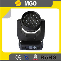 19x12w moving head led zoom light